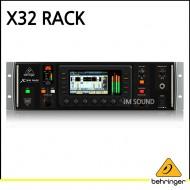 X32 RACK16 프로그래밍 가능한 MIDAS Preamps/FireWire/USB 오디오 인터페이스 및 iPad/iPhone 원격 제어 가능한 40입력/25버