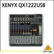 QX1222USB/프리미엄 16입력 2/2버스 믹서, 제닉스 마이크 프리앰프, 컴프레셔, KLARK TEKNIK 멀티 FX 프로세