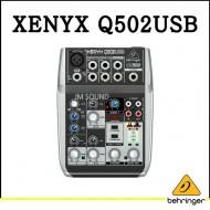 Q502USB,프리미엄 5입력 2버스 믹서, 제닉스 마이크 프리앰프, 컴프레셔, 브리티쉬 EQ와 USB,오디오 인터페이스