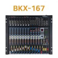 카날스 BKX-167 전문가용 18채널 오디오믹서앰프 믹싱콘솔 이펙터내장 렉장착가능