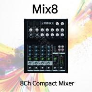 Mix8/8채널 콤팩트 믹서